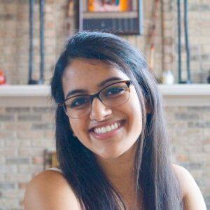 Biology Student Aditi Mahajan led the Mutual Aid Project.