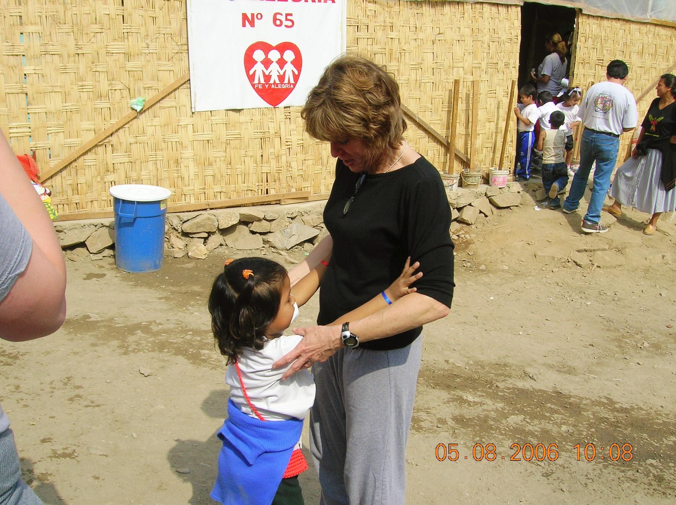 In a clinic in Peru. Image credit: Ricardo Alfaro