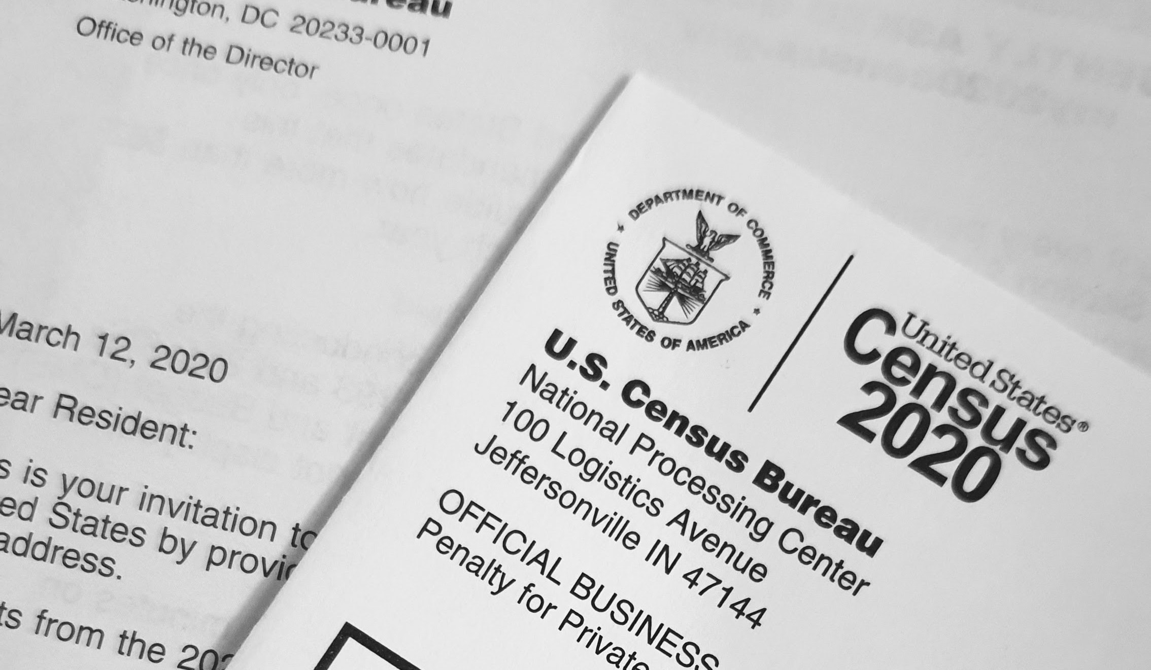 Census Bureau Documents. Image credit: UnSplash
