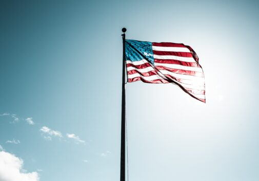Flag of U.S.A. Image credit: Justin Cron, Unsplash