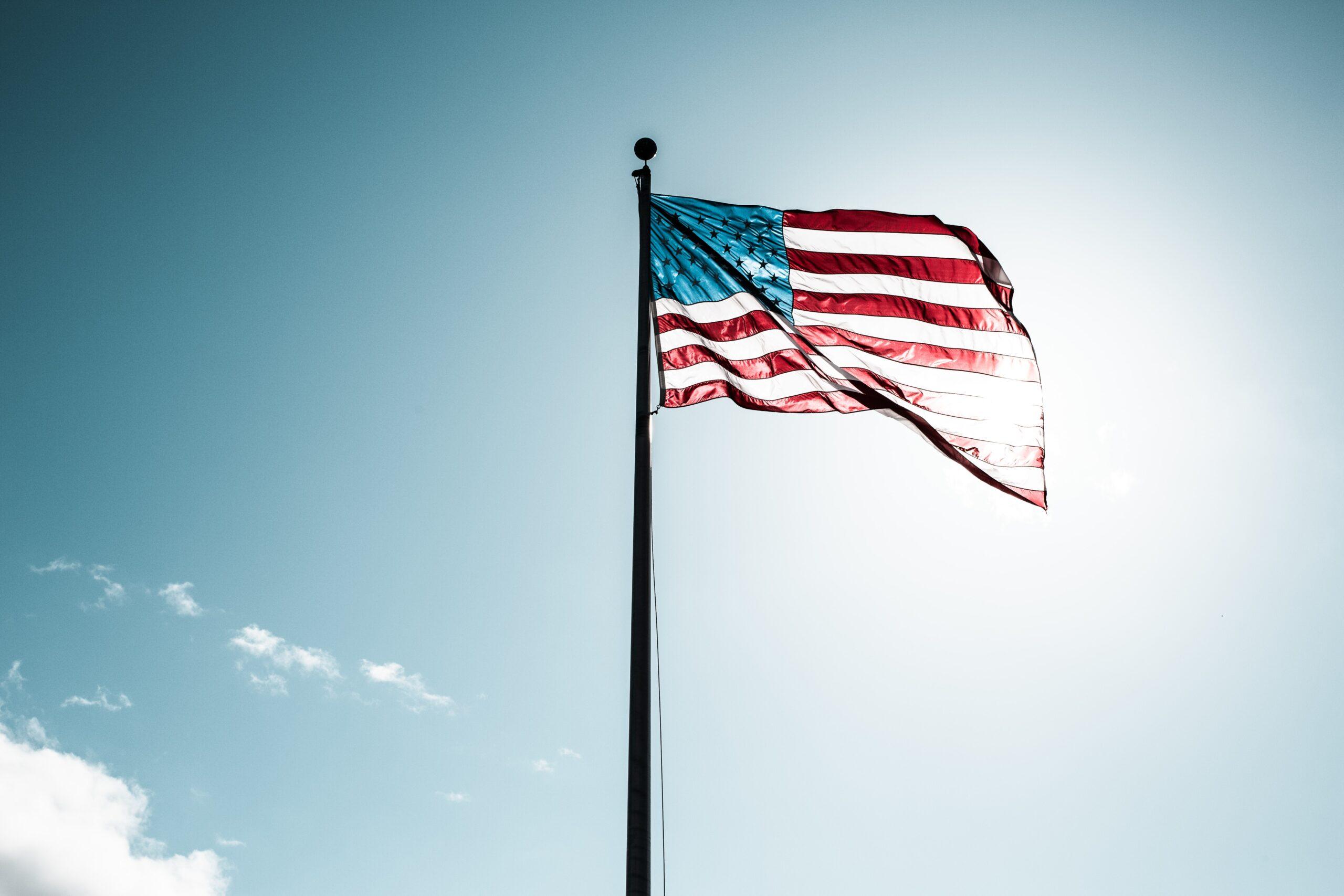 Flag of U.S.A. Image credit: Justin Cron, Unsplash