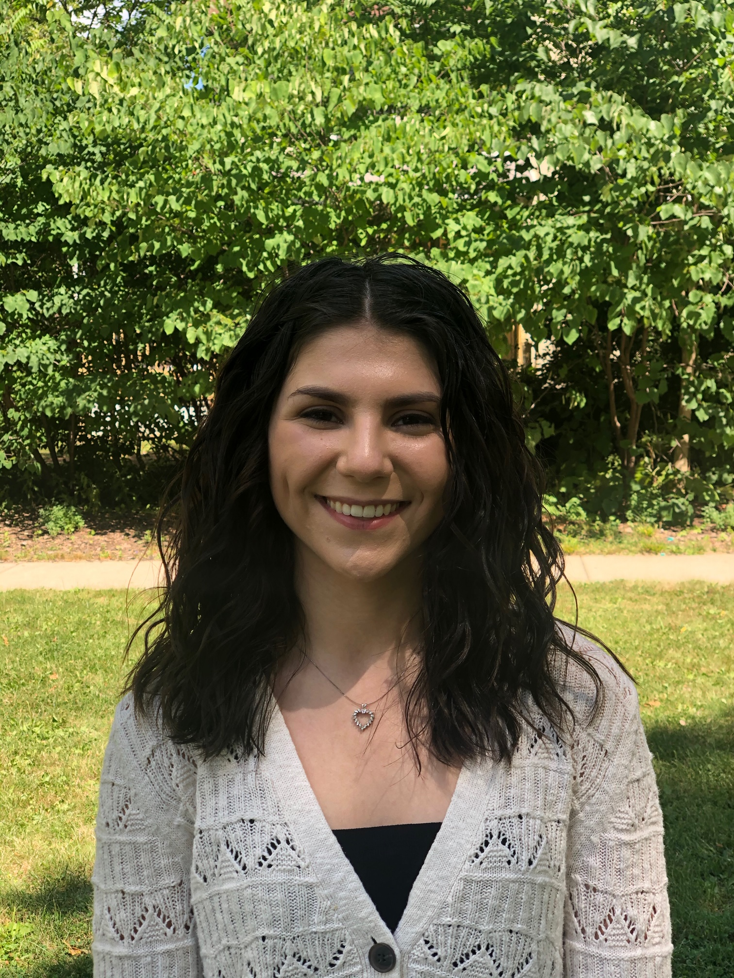 Sabrina Corsetti, 2020 Goldwater Scholar, developed a data model that leverages machine learning to predict COVID-19 cases and deaths for the United States up to 40 days in advance.