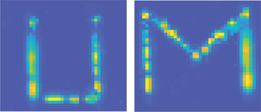 The letters U and M appear in yellow, green, and blue against a dark blue background
