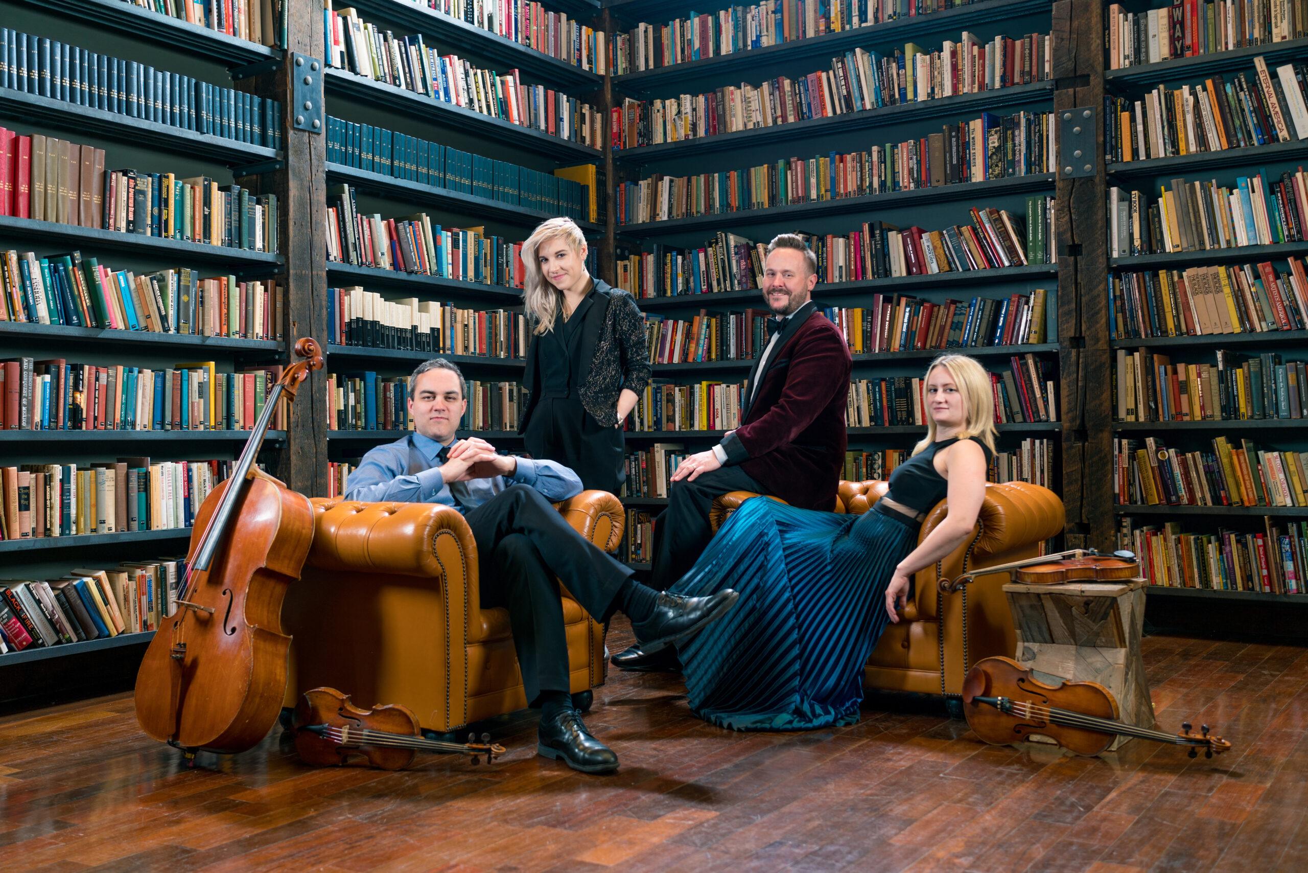 Spektral Quartet. Image credit: Dan Kullman