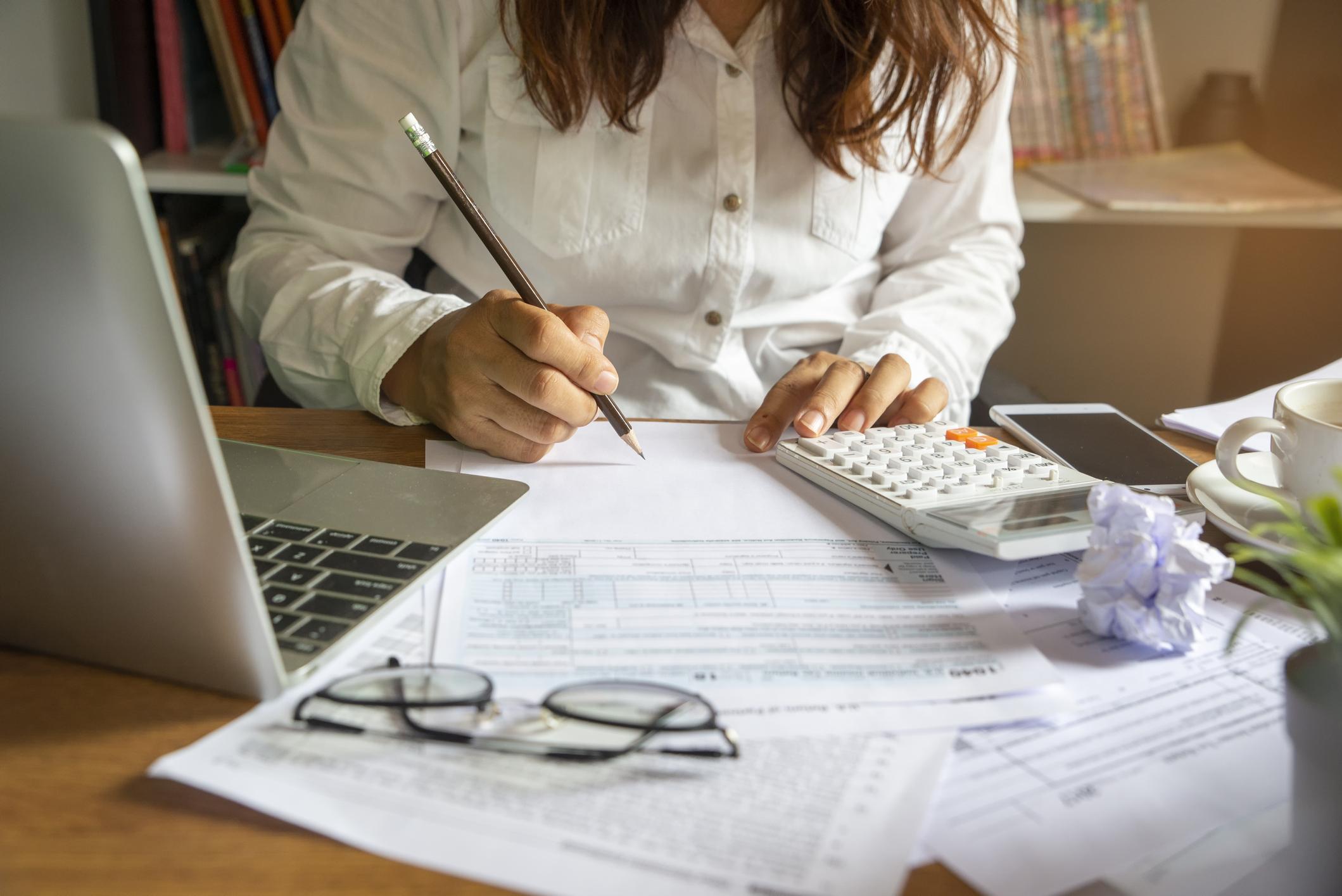 Budget planning concept. Image credit: iStock