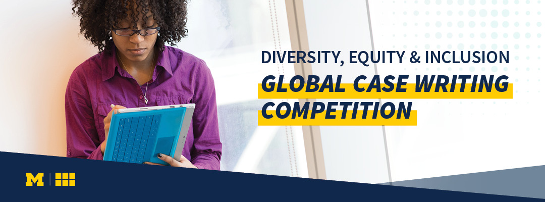 Diversity, Equity, & Inclusion Global Case Writing Competition. Image credit: WDI Publishing