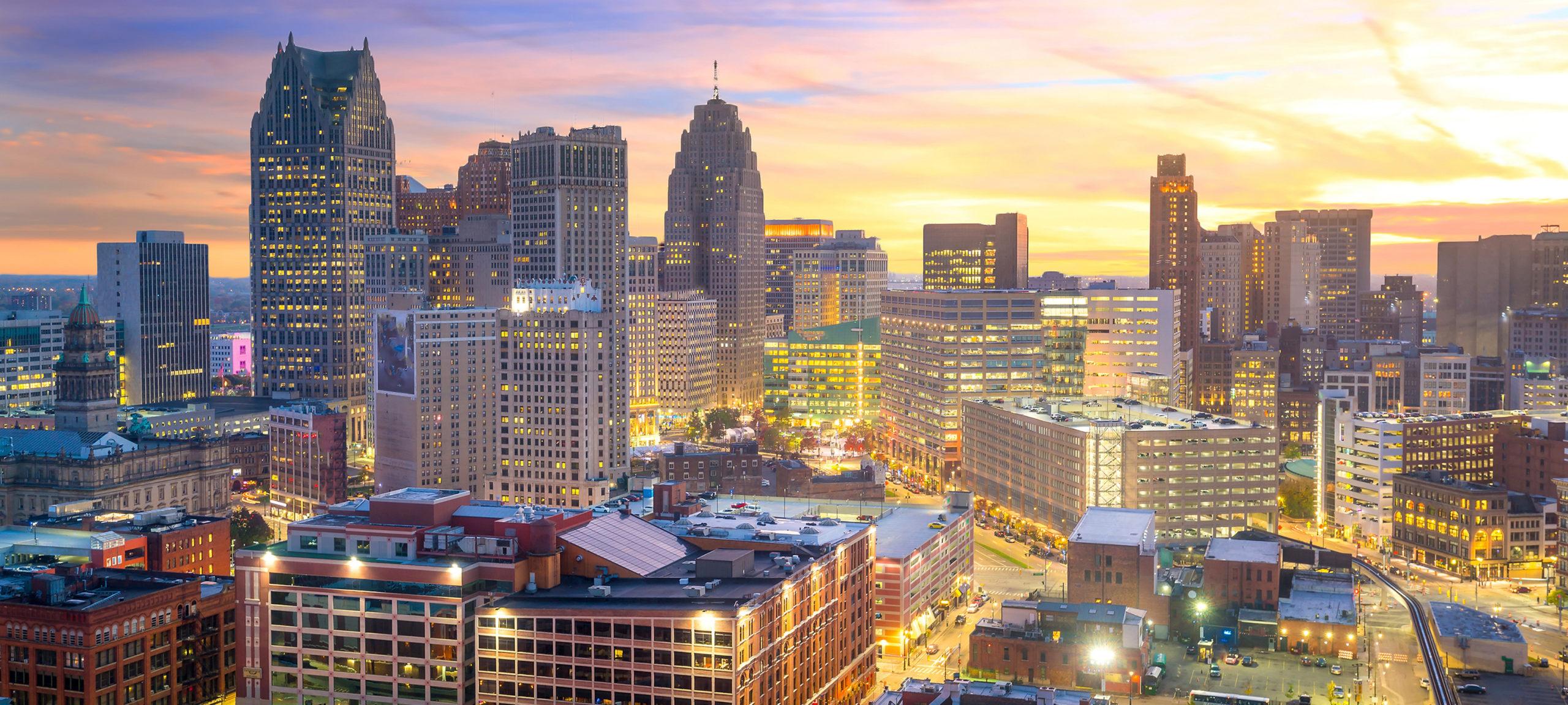 Detroit Skyline. Image credit: Getty Image