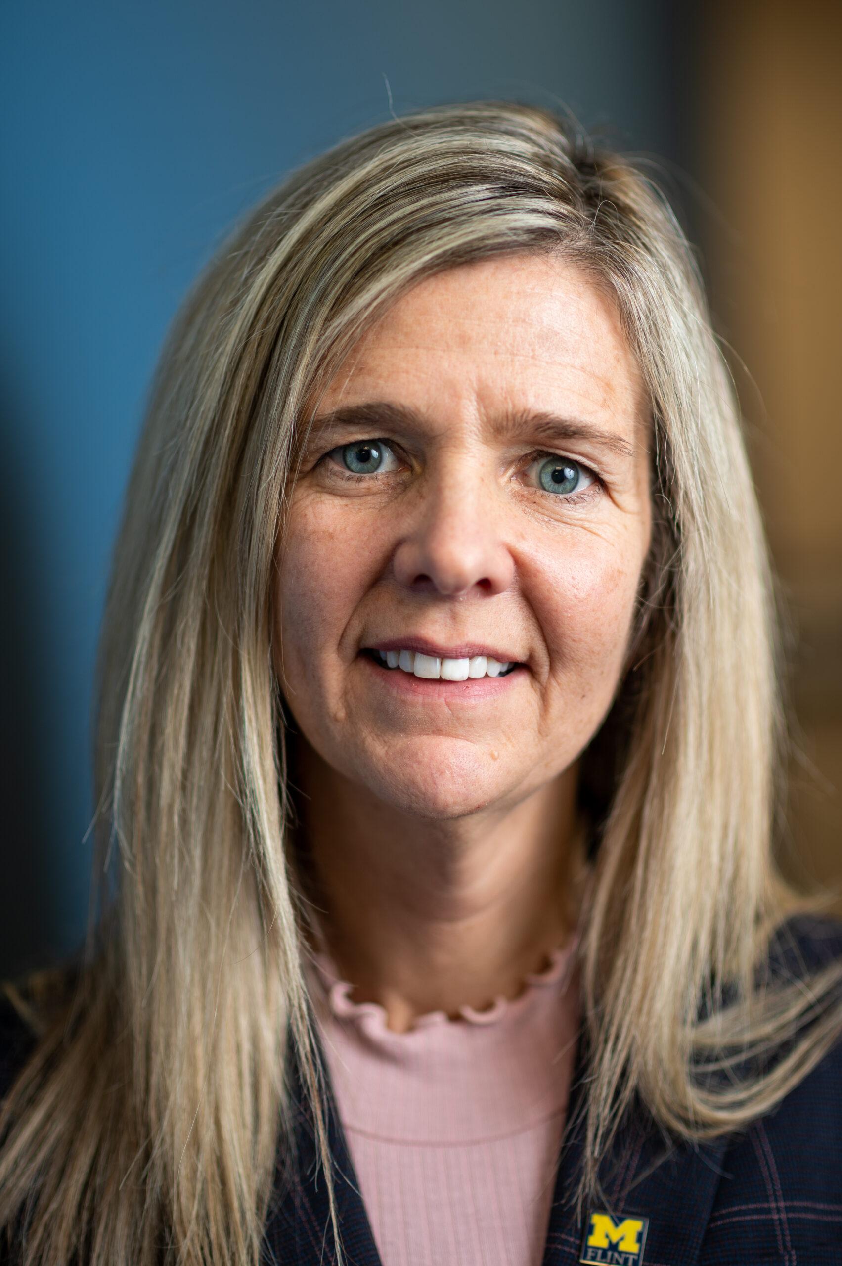Paula Nas, Director, Office of Economic Development, UM-Flint. Image credit: Eric Bronson / Michigan Photography