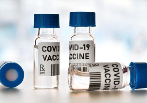 COVID-19 vaccine. Image credit: iStock
