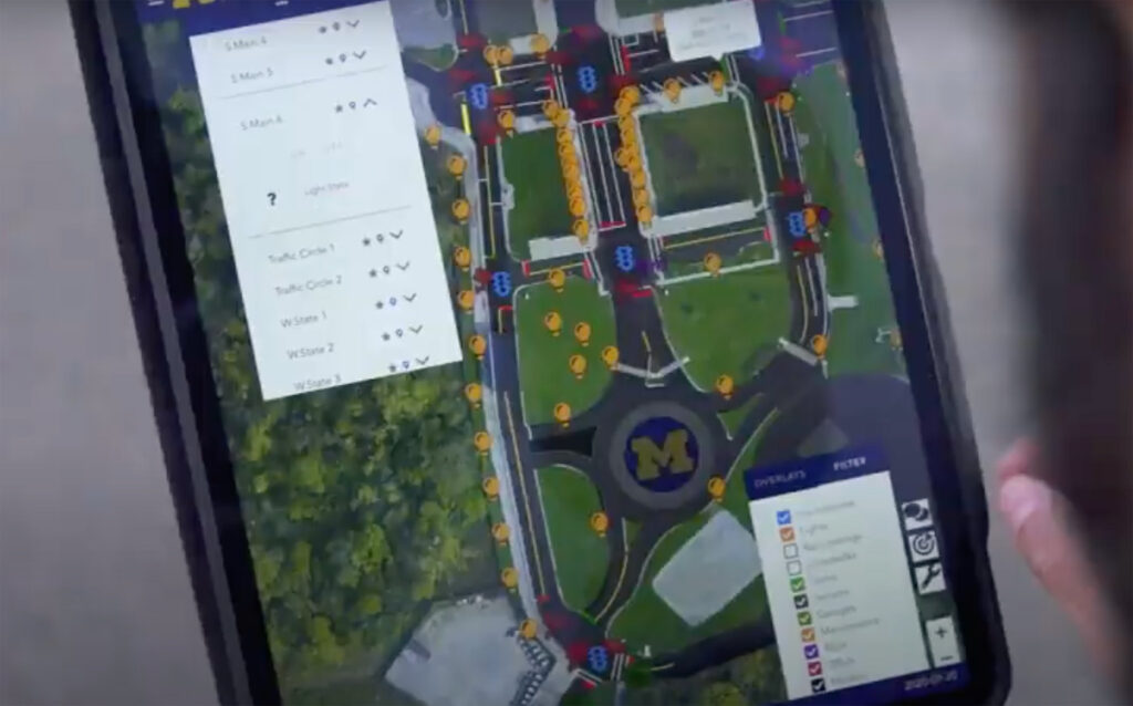 Mcity OS operating system. Image courtesy: Mcity