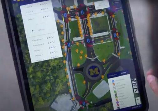 Mcity OS operating system. Image courtesy: Mcity