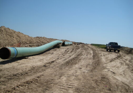Pipes for keystone pipeline in 2009. Image credit: Flominator via Flickr