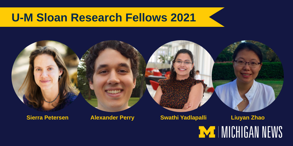 Sloan Research Fellows 2021