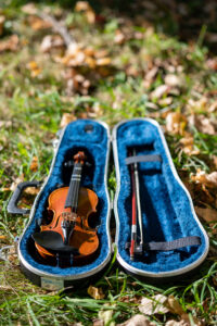 """""""We use violin lessons to show kids they can succeed,"""" says Clara Hardie, University of Michigan alumna and founder of Detroit Youth Volume."""