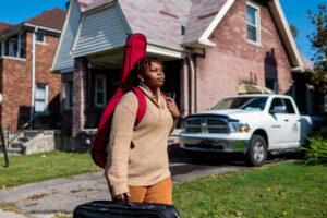 Ashanti Norwood, one of the Detroit Youth Volume students.