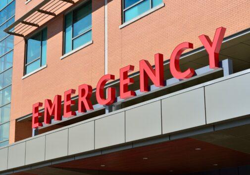 Emergency signage. Image credit: Pixabay