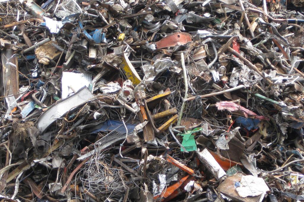 Scrap metal. Image credit: Daniel Cooper