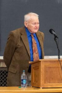 U-M professor emeritus of biology Thomas Moore in 2018. Image credit: Michigan Photography