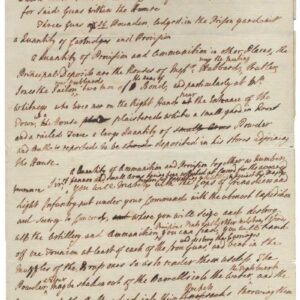 General Thomas Gage's draft orders to Lt. Col. Francis Smith for the Concord Expedition, which led to the opening shots of the American Revolution on April 18, 1775. From the Thomas Gage Papers, University of Michigan William L. Clements Library.