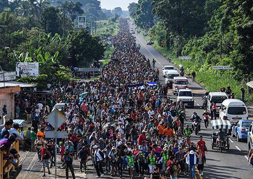 Um grupo de imigrantes. Cortesia de imagem: Guadalupe Madrigal