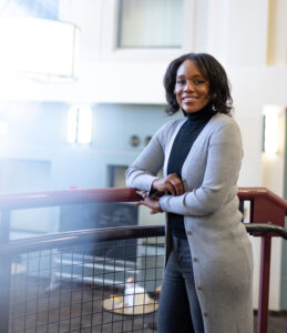 Trachette Jackson, a University of Michigan math professor, says that many students face biases, inequalities and barriers that impact their ability and desire to pursue academic careers in STEM. Image credit: Eric Bronson, Michigan Photography
