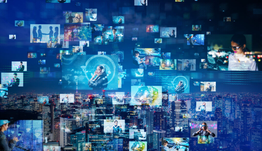 Digital advertising concept image. Image credit: iStock