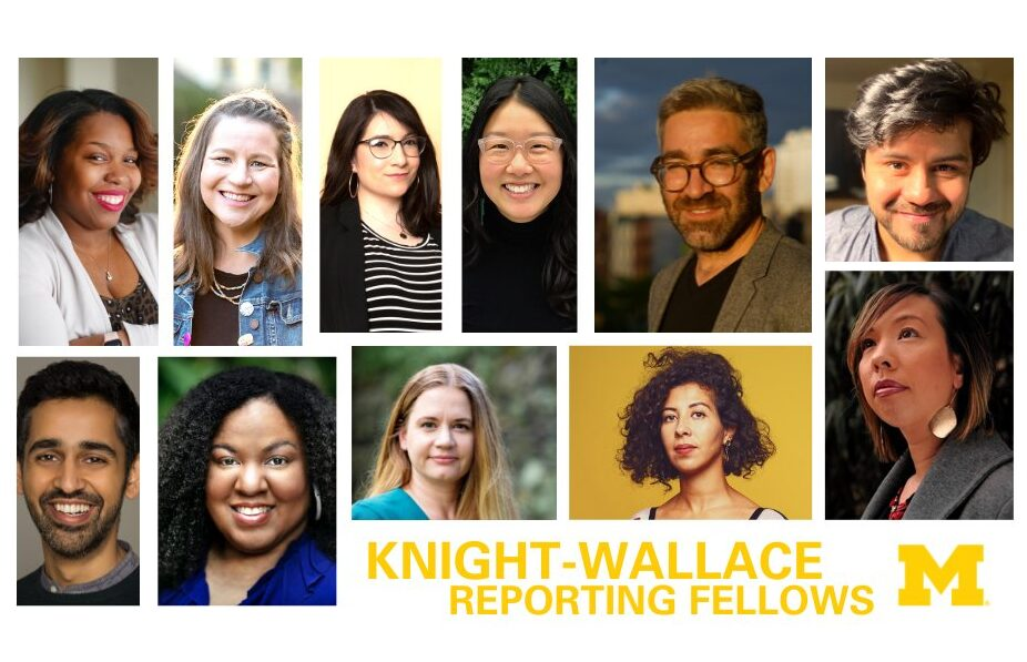 UM Knight Wallace Reporting Fellows 2021-2022