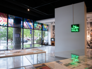 Halal Metropolis is on view at the Stamps Gallery until July 17.