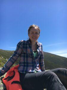 Markita Zimova, bióloga evolutiva de la Universidad de Michigan, autora principal del nuevo artículo de investigación del Journal of Animal Ecology.  Cortesía de imagen: Marketa Zimova