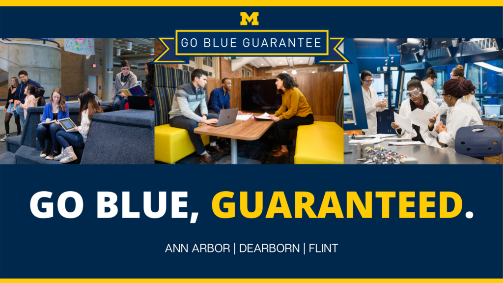 U-M extends Go Blue Guarantee to all campuses