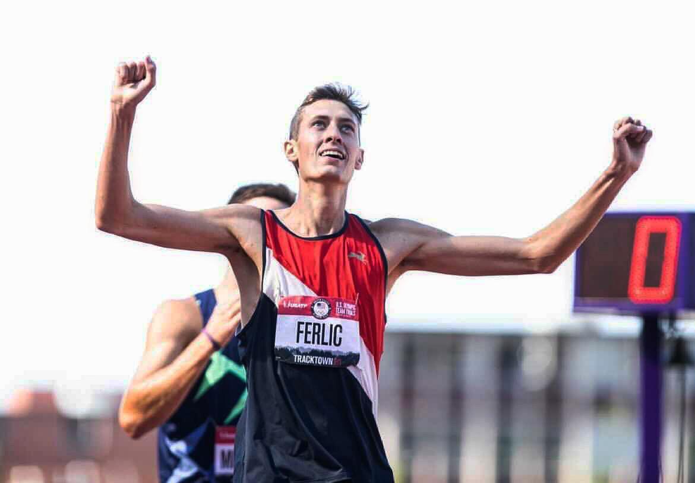 U-M student Mason Ferlic qualifies for the Olympic games. Image courtesy: Mason Ferlic