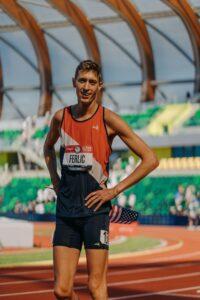 U-M Ph.d student and Olympian Mason Ferlic. Image courtesy: Mason Ferlic