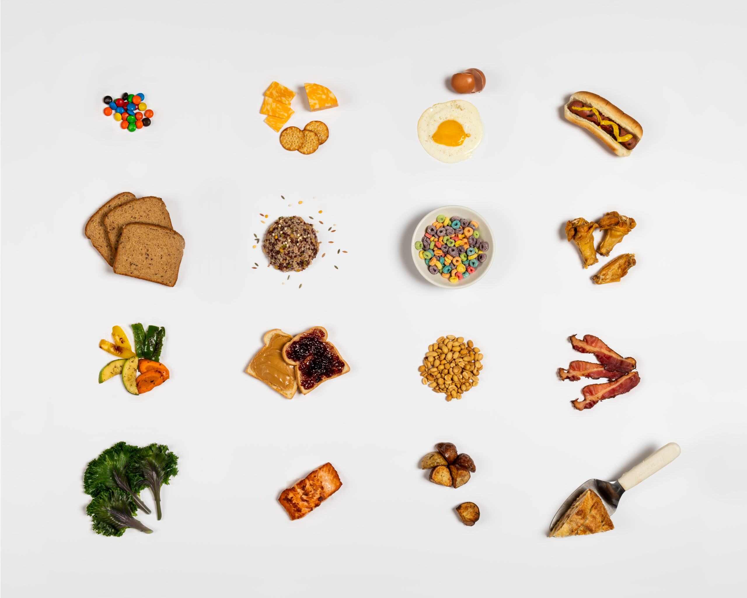 Several food featured in the study. Image credit: Austin Thomason, Michigan Photography