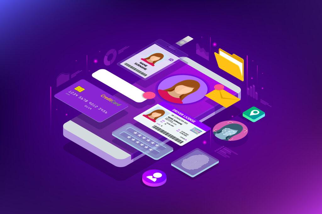 Concept illustration of digital identity. Image credit: iStock