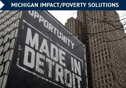 U-M, Detroit work to boost economic mobility