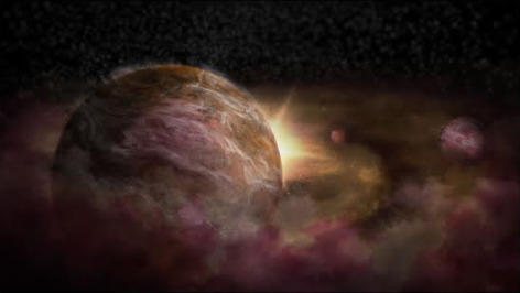 Artist impression of protoplanets forming around a young star. Credit: NRAO/AUI/NSF; S. Dagnello